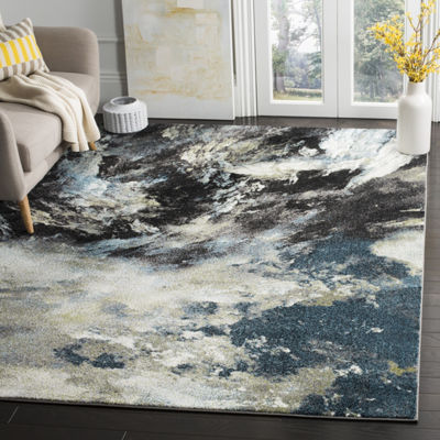 Safavieh Glacier Collection Jessika Abstract Square Area Rug