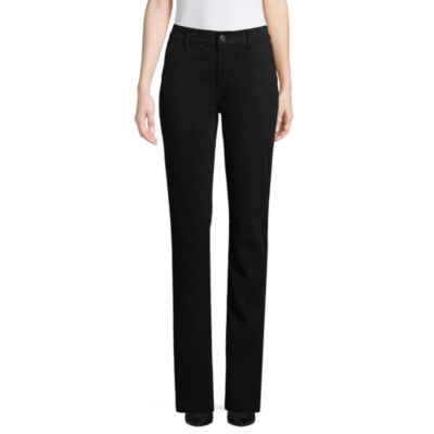St. John's Bay Sateen Trouser Pant - Tall