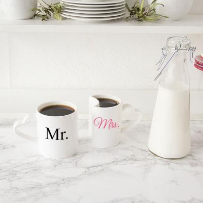 Cathy's Concepts Mr. & Mrs. Coffee Mug Set