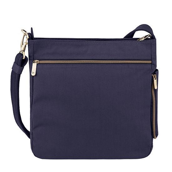 Travelon Anti Theft Courier Crossbody Bag