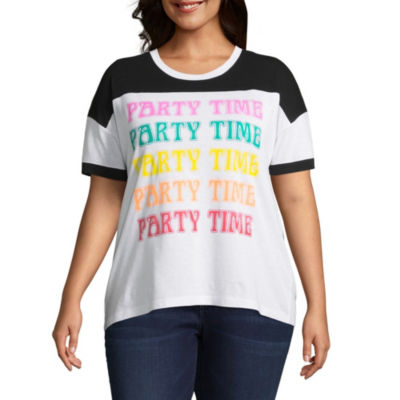 "Party Time"" Tee - Juniors Plus"