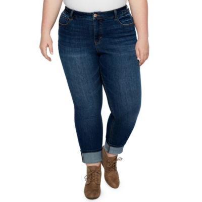 Stitch Star Selvedge Cuff Jean - Plus