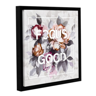 Focus on the Good Floater-Framed Gallery Wrapped Canvas
