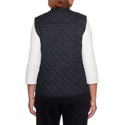 Alfred Dunner Travel Light Reversible Vest