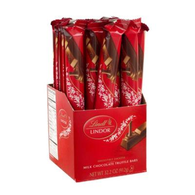 Lindor Milk Chocolate Truffle Bars - 1.3 oz - 24 Count