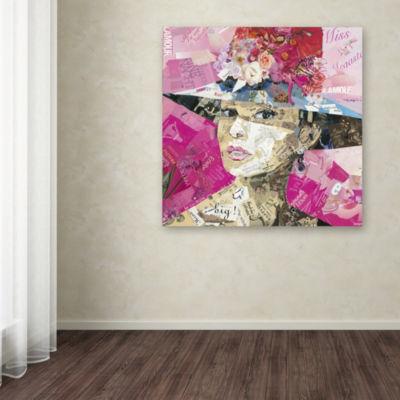 Trademark Fine Art Ines Kouidis Girl Next Door Giclee Canvas Art