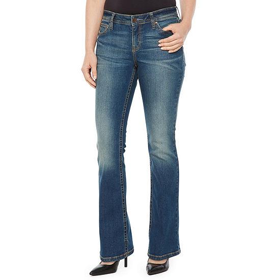 a.n.a Womens Low Rise Bootcut Jean-Petite