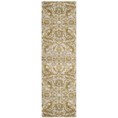 Safavieh Samia Floral Rectangular Runner