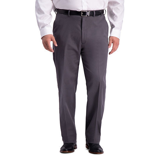 Haggar Work to Weekend Pro Relaxed Fit Flat Front Big and Tall Pants