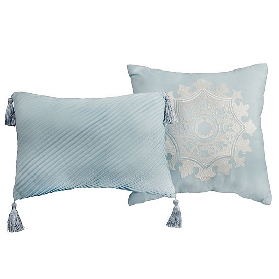 Lionel Richie Light Blue 2-Pack Throw Pillows