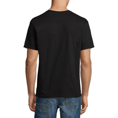Vans Mens Crew Neck Short Sleeve Logo Graphic T-Shirt