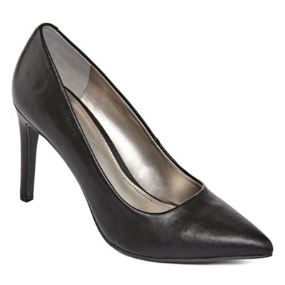 Worthington Womens Zoe Pumps Slip-on Closed Toe Stiletto Heel