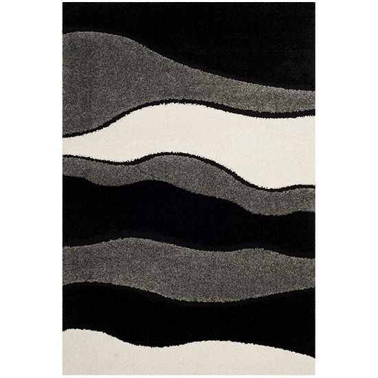 Safavieh Shag Collection Harlow Geometric Area Rug