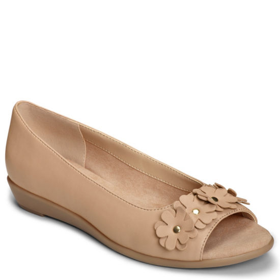 A2 by Aerosoles Womens At Long Last Slip-On Shoe Peep Toe