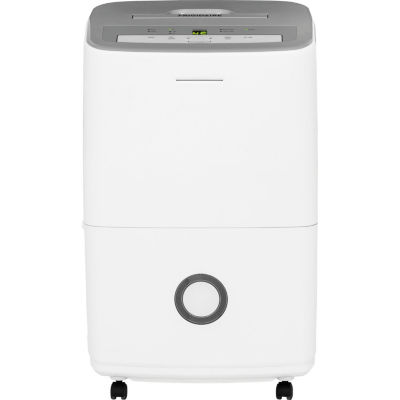 Frigidaire 30-Pint Dehumidifier with Effortless Humidity Control White