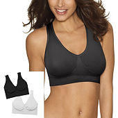 94be3ec2a Hanes Get Cozy™ Comfortflex Fit® Seamless 2-Pack Wireless Full Coverage Bra -Dhhb9f