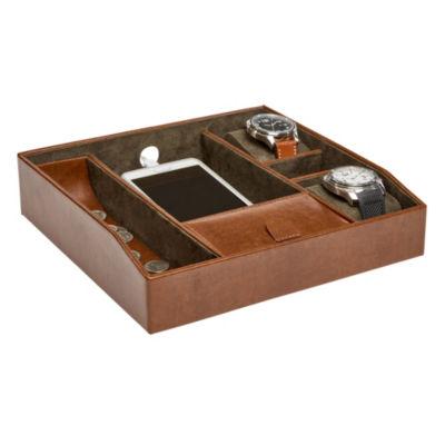 Mele & Co. Finley Men's Dresser Top Valet