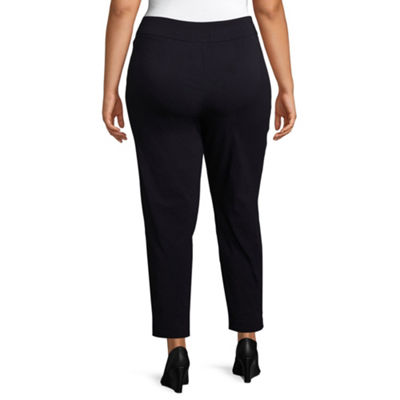 Worthington Pull on Ankle Pant - Plus