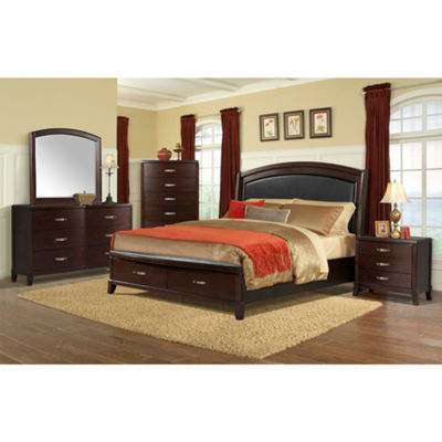 Picket House Furnishings Elaine Platform Storage 3-pc. Bedroom Set with USB