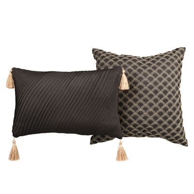 Lionel Richie Black 2-Pack Throw Pillows