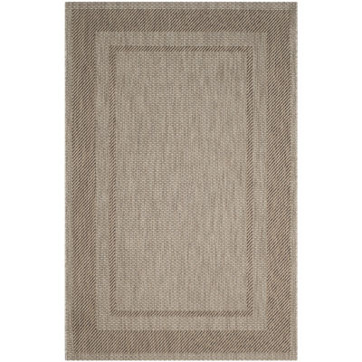 Safavieh Courtyard Collection Lorna Stripe Indoor/Outdoor Area Rug
