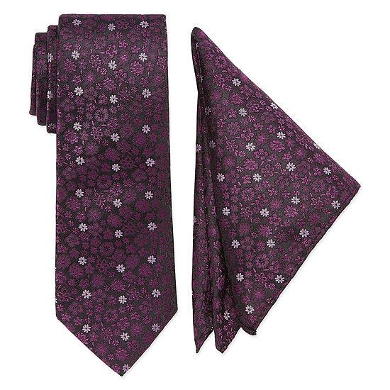 U.S. Polo Assn. U  S   Polo Assn Floral Tie Set