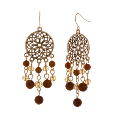 Mixit 6.25 Mixit Color Chandelier Earrings