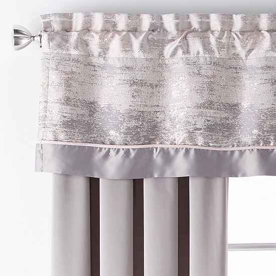 Liz Claiborne Maywood Rod Pocket Curtain Panel