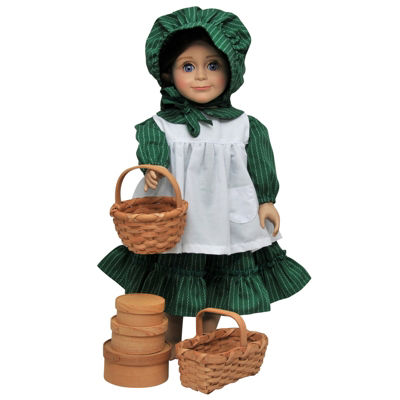 The Queen's Treasures 18 Inch Doll Little House Basket Accessories