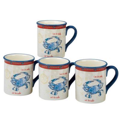 Certified International Coastal Life Coffee Mug