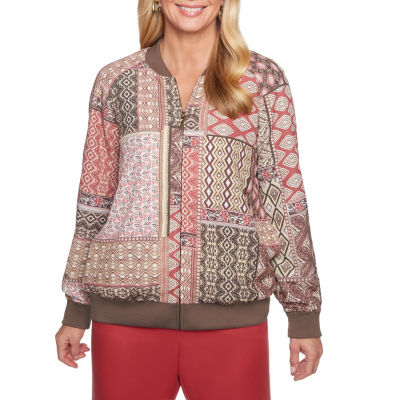 Alfred Dunner Sunset Canyon Bomber Jacket