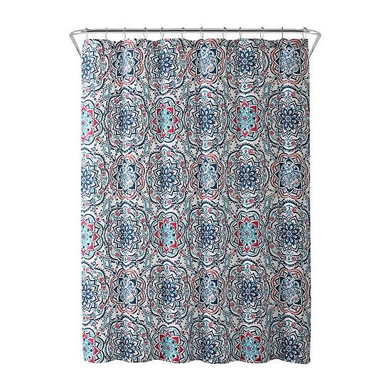 Inspired Surroundings Leila Shower Curtain