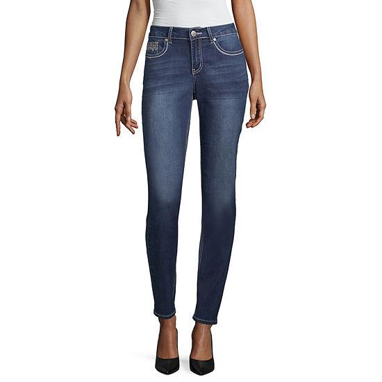 Love Indigo Art Deco Pocket Jean - Tall