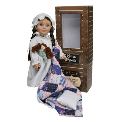 The Queen's Treasures 18 Inch Little House Laura Ingalls Doll
