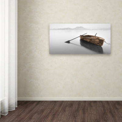 Trademark Fine Art Moises Levy Ready 2-Brown Giclee Canvas Art