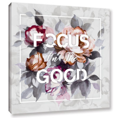 Focus on the Good Gallery Wrapped Canvas