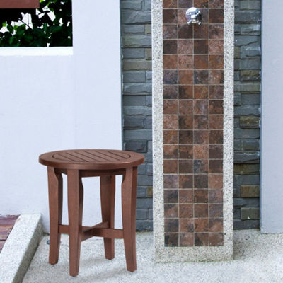 Preston Backless Non Swivel Bath Stool
