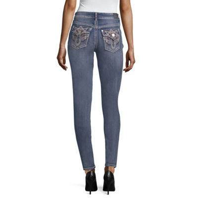 Love Indigo Art Deco Flap Pocket Jean - Tall
