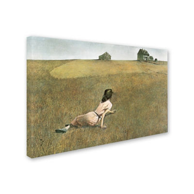 Trademark Fine Art Andrew Wyeth Christina's WorldGiclee Canvas Art