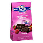 Ghirardelli Chocolate Squares Dark & Raspberry Chocolate - 5.32 oz - 3 Pack
