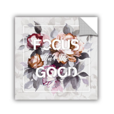 Focus on the Good Removable Wall Decal