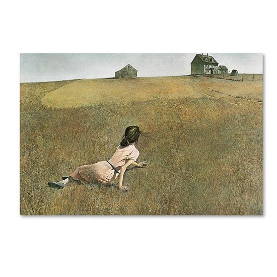 Trademark Fine Art Andrew Wyeth Christina's WorldGiclee Canvas Art