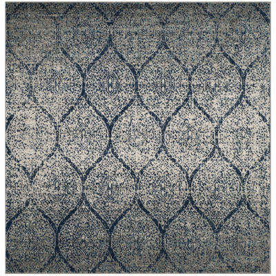 Safavieh Madison Collection Carmen Geometric Square Area Rug