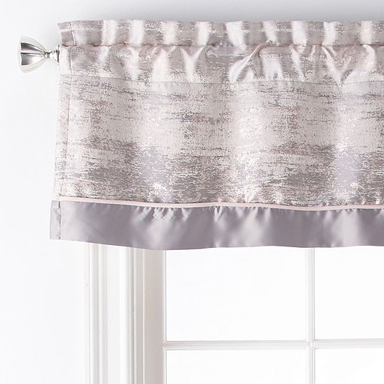 Liz Claiborne Maywood Rod-Pocket Tailored Valance