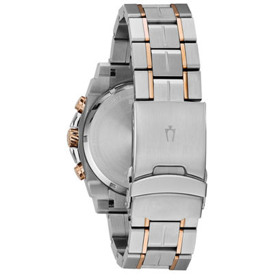 Bulova Mens Two Tone Bracelet Watch-98b317