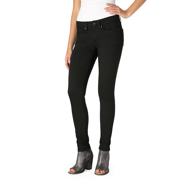 Denizen Womens Low Rise Straight Jeggings - Juniors