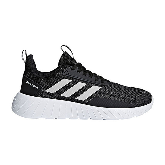 adidas Questar Drive K Boys Running Shoes - Little Big Kids - JCPenney 8feb2a527