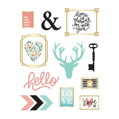New View New View Assorted Icons Decals Wall Decal