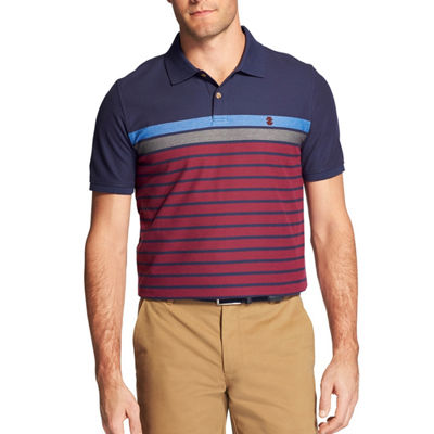 IZOD Advantage Performance Engineered Stripe Polo
