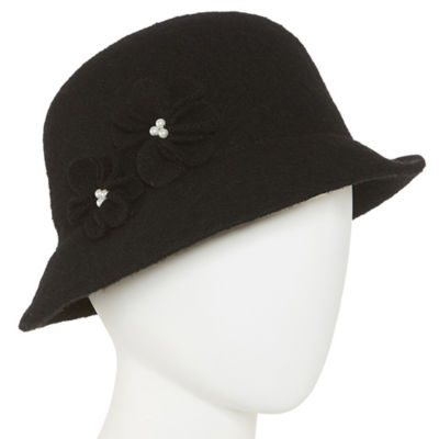 Mixit Flower Cloche Hat